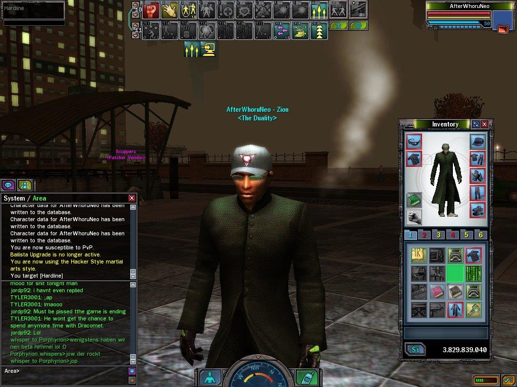 Matrix Online - Last Days