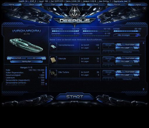 Deepolis Screen